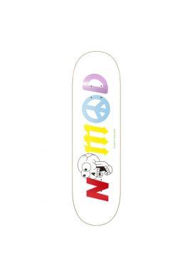 "Tabla skateboard NOMAD ""Doomsday Rainbow"" Lettering Deck"