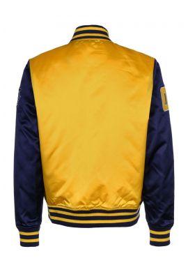 "Chaqueta bomber FUBU ""Varsity Jacket"" yellow blue"