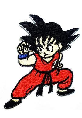"""Parche ropa Bola de Dragón """"Kid Goku"""""""
