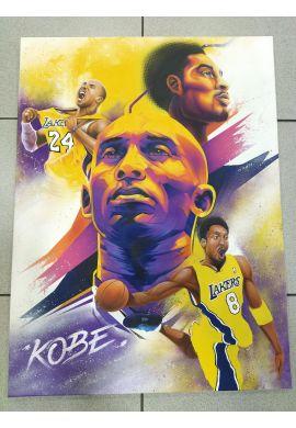 """Obra Spray y Aerógrafo sobre lienzo """"Homenaje a Kobe Bryant"""" by Kondor"""