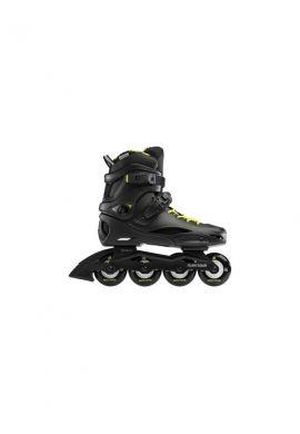 "Patines Rollerblade ""RB Cruiser"" Black neon yellow"