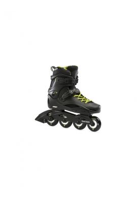 "Patines Rollerblade ""RB Cruiser"" Black neon yellow"