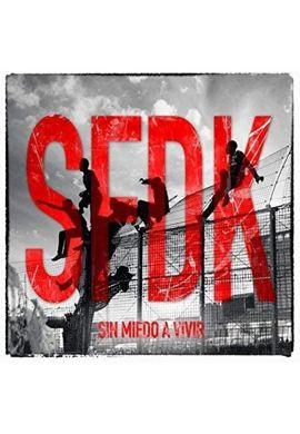 """Disco vinilo SFDK """"Sin Miedo a Vivir"""""""