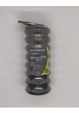 Pack Ruedas ROLLERBLADE 80 mms / 82 A + Rodamientos SG7 + espaciadores