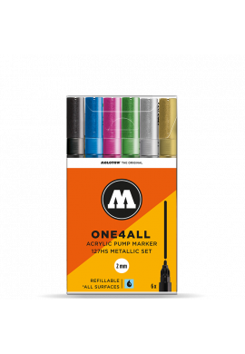 Pack Rotuladores MOLOTOW One4All 127HS (Metallic Set)