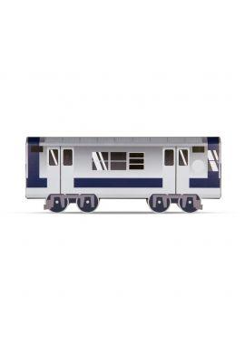 """Maqueta cartón MOLOTOW """"Mini Subwayz - NEW YORK"""" by Glaze"""