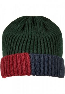 "Gorro invierno Urban Classsics ""TB3864"" bottlegreen / burgundy / navy"