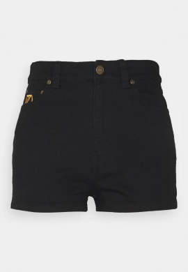 "Shorts vaqueros chica KARL KANI ""OG Denim"" black gold"