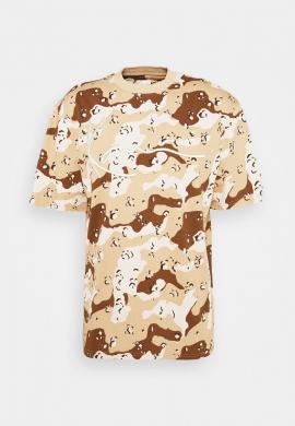 "Camiseta KARL KANI ""Signature"" camo sand"