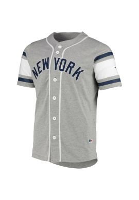 "Camiseta beisbolera FANATICS ""New York Yankees"" grey"