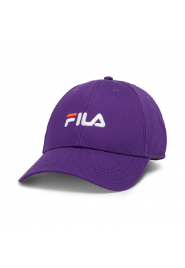 "Gorra strapback FILA ""6 panel"" purple"