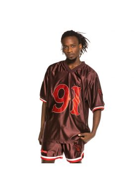 "Camiseta fútbol americano GRIMEY ""The Loot"" maroon"