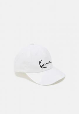"""Gorra curva strapback KARL KANI """"Signature"""" white"""