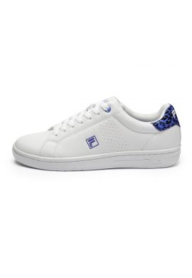 """Zapatillas chica FILA """"Crosscourt 2 FLow"""" baja blue"""
