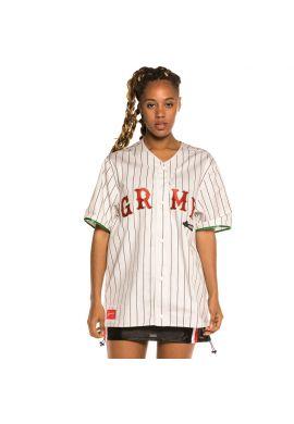 "Camiseta beisbolera unisex GRIMEY ""The Loot"" white"