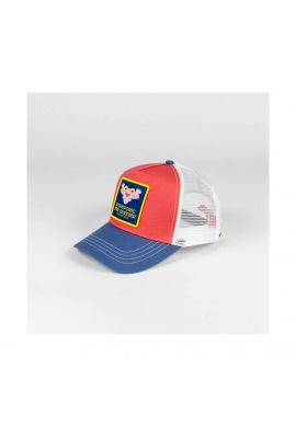 "Gorra trucker Hydroponic ""Pink Panther"" head coral blue white"