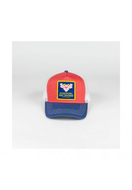 """Gorra trucker Hydroponic """"Pink Panther"""" head coral blue white"""