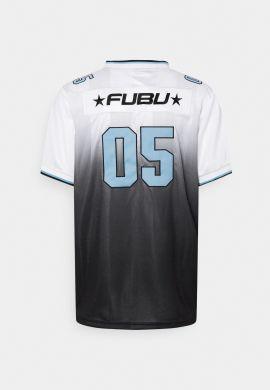 """Camiseta fútbol americano FUBU """"Corporate Gradient"""" white blue"""