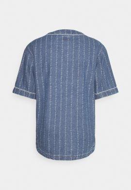"Camiseta Beisbolera vaquera KARL KANI ""Originals Denim"" blue light"