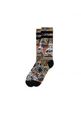 """Calcetines American Socks """"Eagle of Fire"""" mid high"""