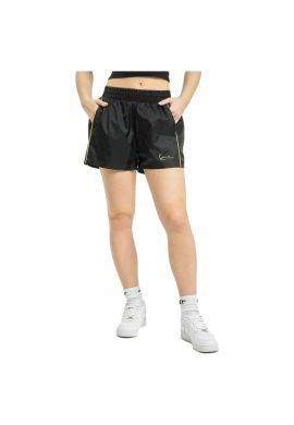 "Shorts KARL KANI ""Small Signature"" black fluor yellow"