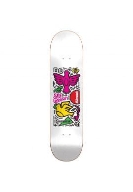 "Tabla skateboard ALMOST ""Skateistan"""