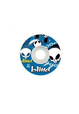 "Ruedas skateboard BLIND ""Random"" blue"