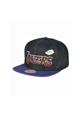 """Gorra plana Mitchell & Ness """"L.A. Lakers"""" snake pinned 2009"""