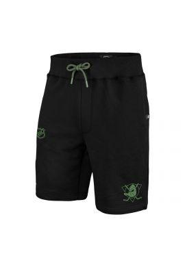 "Pantalón corto algodón 47 BRAND ""Ducks"" jet black green camo"