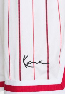 "Pantalón corto basket KARL KANI ""Signature Pinstripe"" white"