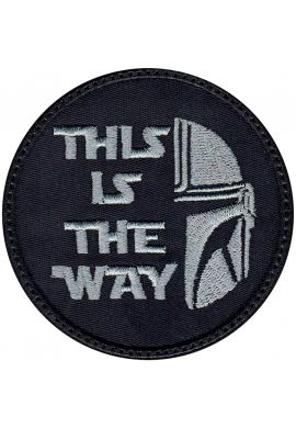 "Parche para ropa ""Mandalorian - This is the Way"""