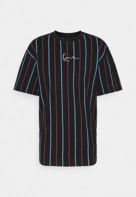 """Camiseta KARL KANI """"Signature Pinstripe"""" navy red"""
