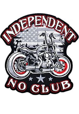 """Parche ropa """"Independent - No Club"""""""