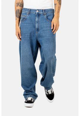 "Pantalón vaquero REELL ""Baggy"" faded mid blu"