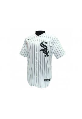 "Camiseta beisbolera NIKE ""Official Chicago White Sox"" white stripes"