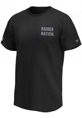 """Camiseta FANATICS """"Slogan Graphic Raiders"""" black"""