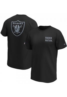 "Camiseta FANATICS ""Slogan Graphic Raiders"" black"