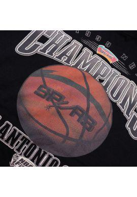 "Camiseta Mitchell & Ness ""Champions Print San Antonio Spurs"" black"