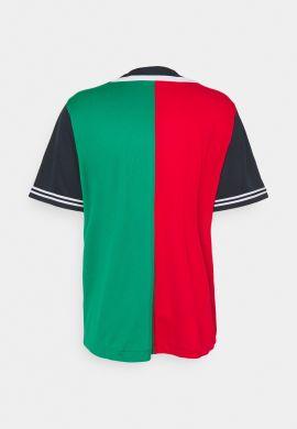 """Camiseta beisbolera KARL KANI """"College Block""""navy green red"""