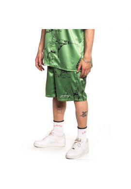 "Pantalón corto GRIMEY ""Hope Unseen Vimana"" green khaki summer 21"