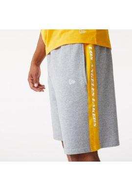 """Pantalones cortos algodón NEW ERA """"Los Ángeles Lakers"""" grey yellow"""