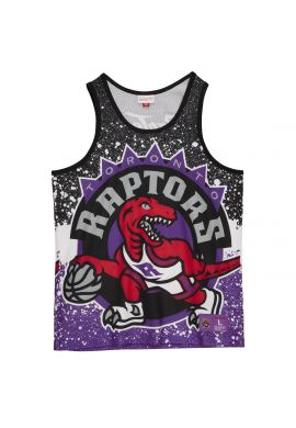 "Camiseta tirantes Mitchell & Ness ""Jumbotron Toronto Raptors"" sublimated"