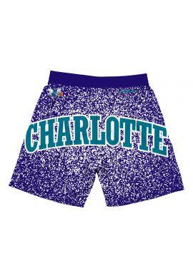 "Pantalones cortos Mitchell & Ness ""Jumbotron Charlotte Hornets"" sublimated"
