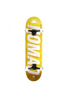 "Tabla completa skateboard NOMAD ""Glitch Lime"""