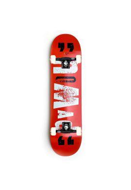 """Tabla completa skateboard NOMAD """"Nickname"""" red"""