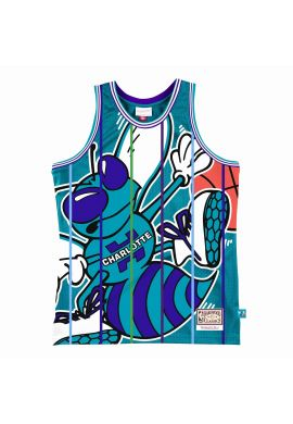 """Camiseta basket Mitchell & Ness """"Blown Out Charlotte Hornets"""""""
