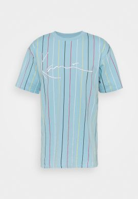 "Camiseta KARL KANI ""Signature Pinstripe"" light blue"