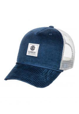 """Gorra trucker ELEMENT """"Bark"""" insignia blue"""