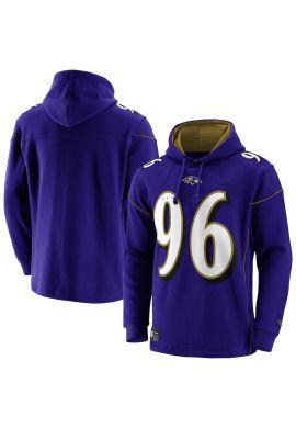 "Sudadera FANATICS ""Franchise Overhead hoodie Baltimore Ravens"" purple"