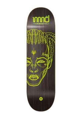 "Tabla skateboard NOMAD ""Trap"" lime"